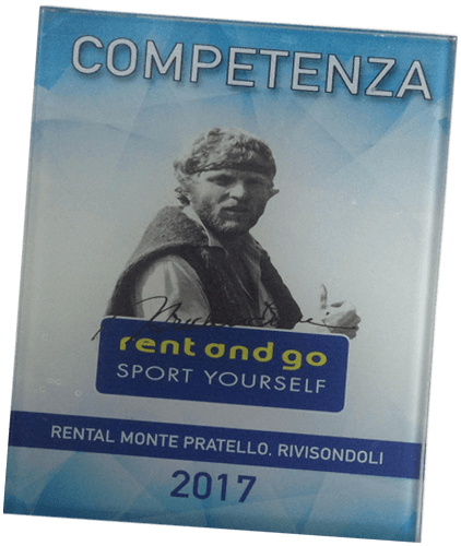 Targa premio Rent and Go